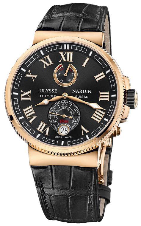 Ulysse Nardi 1186 126 42 ulysse nardin marine chronometer manufacture
