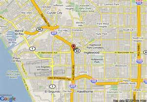 map of best western airpark hotel inglewood