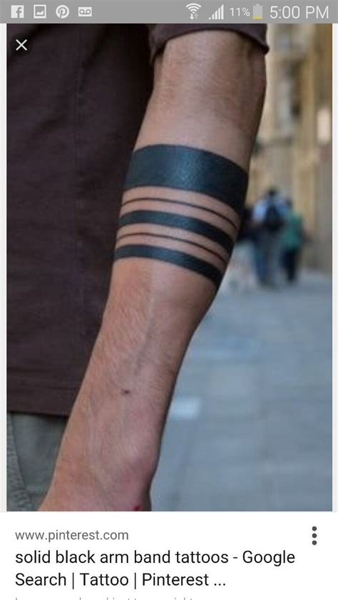 solid band tattoos 51 best plain without images on drawings