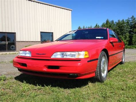 automobile air conditioning service 1990 ford thunderbird navigation system purchase used 1990 ford super coupe 2 door in ontario new york united states for us 9 200 00
