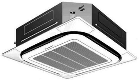 daikin cassette unit daikin fcq42pavju 42000 btu skyair ceiling unit cover