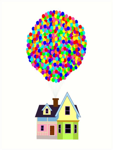 Small A Frame House by Quot Up House Quot Art Prints By Fiag Redbubble