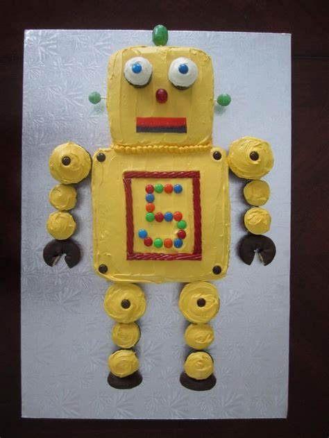 22 adorable ideas for an epic robot themed birthday party best 25 robot cupcakes ideas on pinterest diy robot