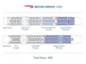 more details of airways a380s and 787s airport