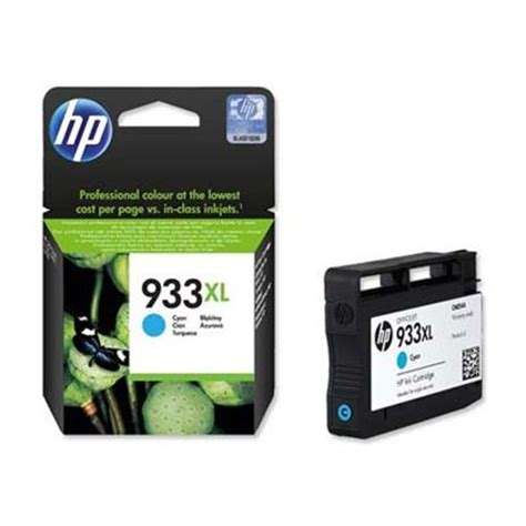 Tinta Hp 18 Color Original cartucho hp original tinta color cian ref 933xl deskidea
