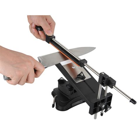 Sharpening Angle For Kitchen Knives 2nd Pro Kitchen Knife Sharpener Edge Sharpening System Fix Angle With Stones Ebay
