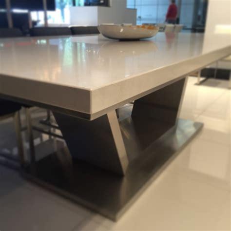 venus caesarstone dining table gainsville furniture