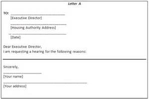Rent Authority Letter Template by Are You Problems With Your Housing Authority Or
