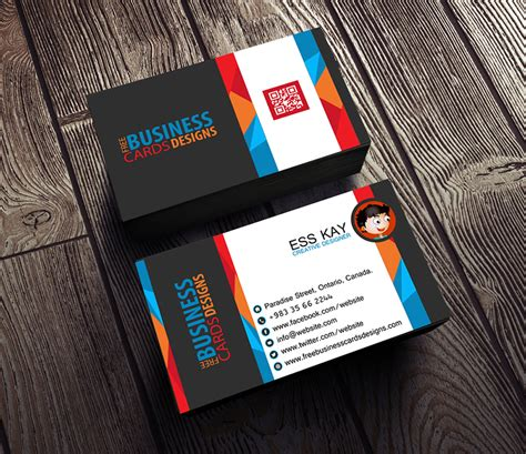 free business card designs templates for 75 free business cards a graphic world