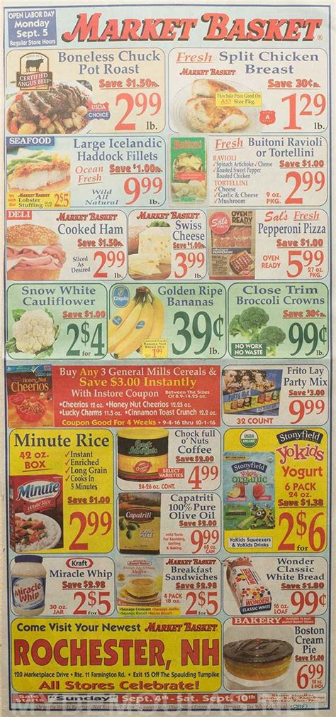 market basket printable grocery coupons 2051 best images about olcatalog com weekly ads on