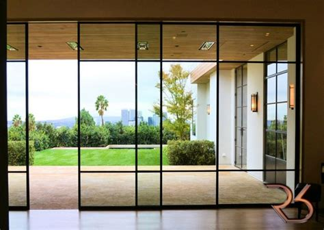 Steel Sliding Glass Doors Automatic Sliding Doors Custom Made Residential Commercial Riviera Bronze Can Pinteres