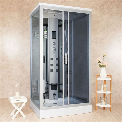cabine sauna bagno turco box doccia idromassaggio element 110x90 sauna bagno turco