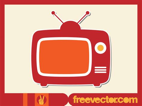 tv free tv vector vector graphics freevector