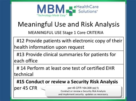 meaningful use security risk analysis template meaningful use security risk essment