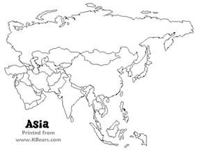 Printable Map Of Asia by Asia Map Coloring Page Coloring Page Coloring Image