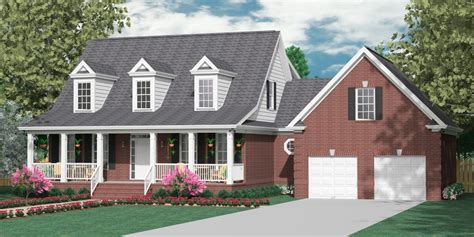 Houseplans Biz House Plan 2341 C The Montgomery C 2 Story Southern Home Plans