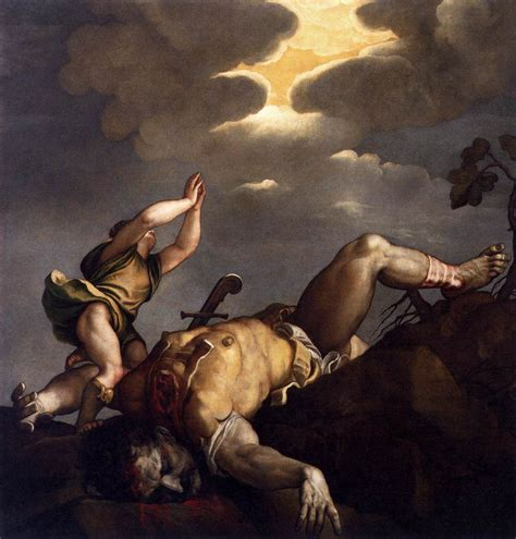 david and goliath titian wikiart org encyclopedia of