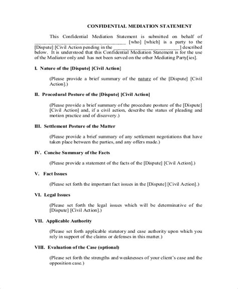 14 settlement statement exles free premium templates