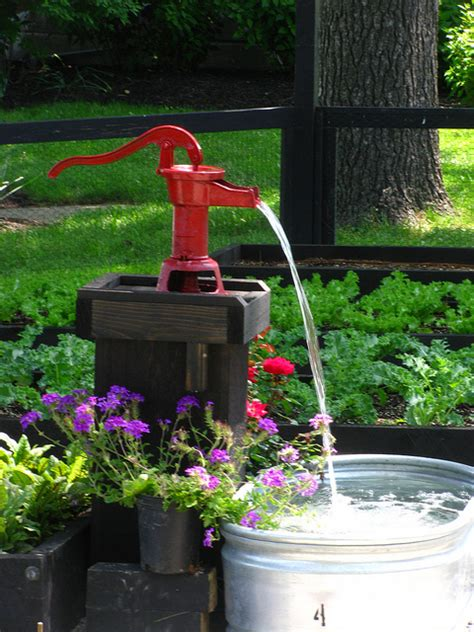 Restaurant Style Kitchen Faucets creative garden water feature landscaping bucks county