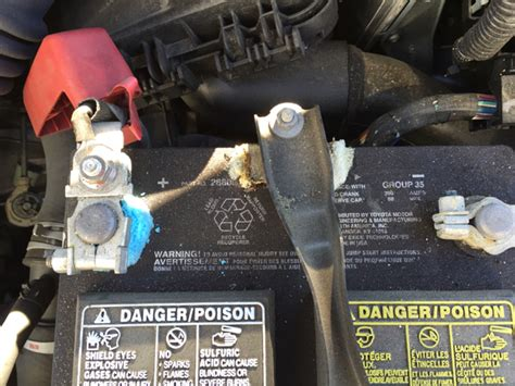 Battery For Toyota Corolla 2010 Excessive Battery Corrosion Toyota Nation Forum