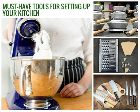 how to set up your kitchen must have tools for setting up your kitchen just a pinch
