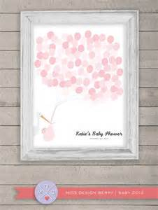 shower guest book alternative baby shower