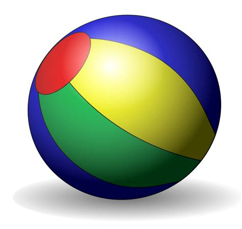 picture of beach ball clipart best