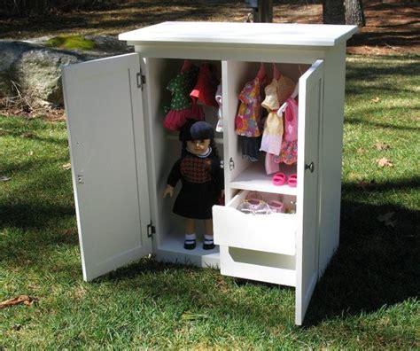 american girl armoire doll wardrobe clothing storage armoire american girl