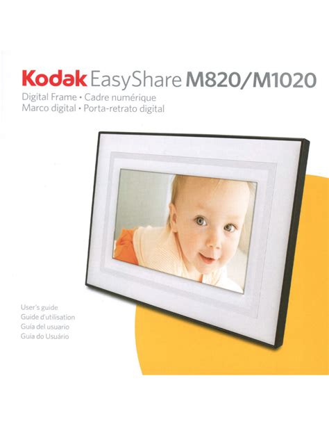 Download Free Pdf For Kodak Easyshare M820 Digital Photo