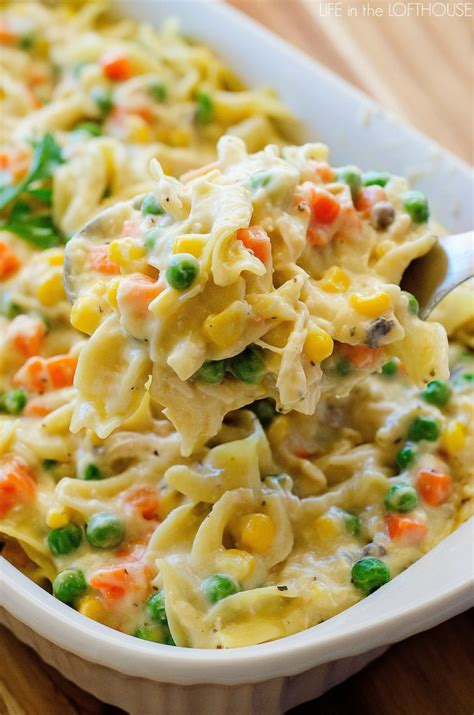 chicken noodle casserole life in the lofthouse