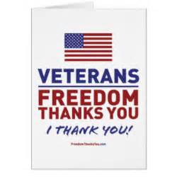 thank a veteran cards zazzle