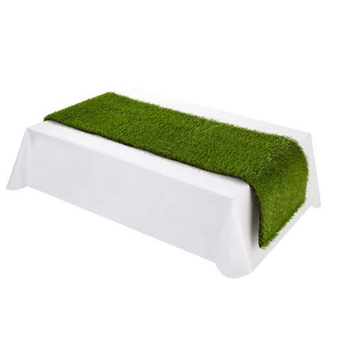 artificial grass table runner confetti co uk