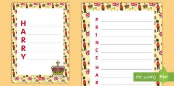 new year acrostic poem template ks1 prince harry acrostic poem writing template royalty