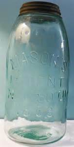 mason s patent nov 30th 1858 fruit jars