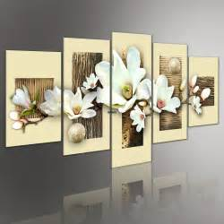 Hand Painted Home Decor by High Quality Thick Texture Flower Pictures Pop Art Hand