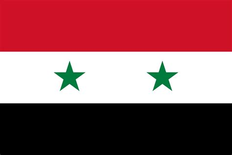 Syiria Green flag of syria