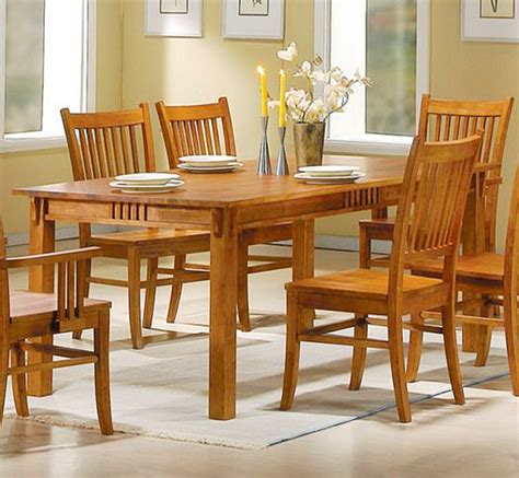 mission style dining room mission style dining room set usa made mission style oak