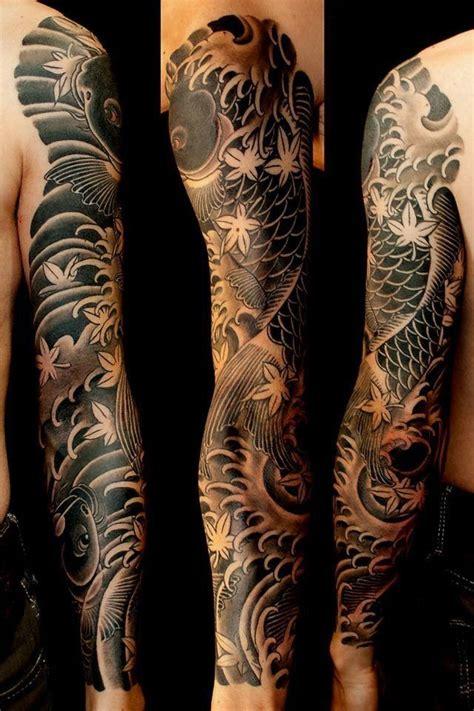 tattoo carpe koi noir et blanc 221 nghĩa 20 h 236 nh xăm mặt quỷ oni đẹp nhất nhật bản oni
