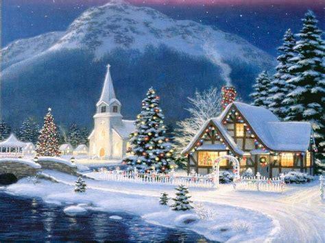 imagenes de paisajes de navidad postales de paisajes de navidad fondos de pantalla y