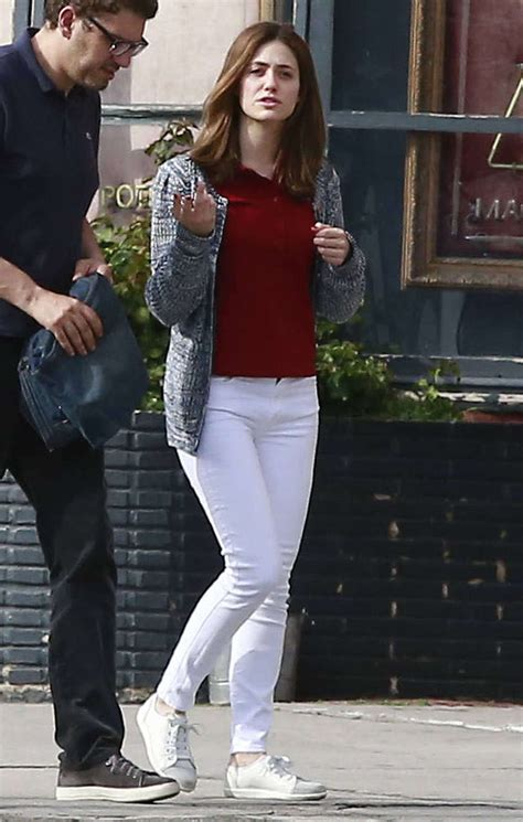 emmy rossum vancouver emmy rossum in jeans out in west hollywood