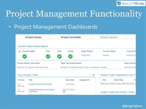 sharepoint project management template free sharepoint project management templates from