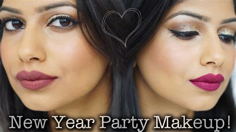 simple makeup for new year easy last minute new year glitter makeup 2 lip