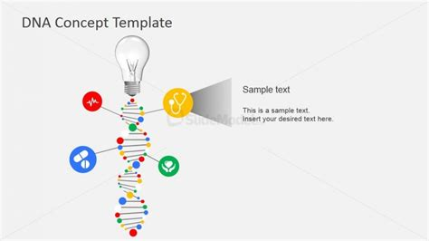 7200 01 dna concept template 7 slidemodel