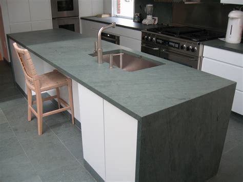slate counter top slate tile on kitchen island quicua com