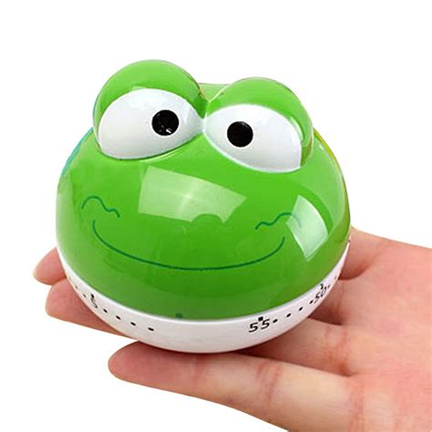 Mini Cup Cook Kartoon animal cooking timer mini kitchen timer egg color changing timer home