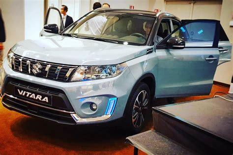 Suzuki Auto 2019 by 2019 Suzuki Vitara In Live Images