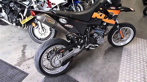 Ktm 640 Lc4 Supermoto For Sale Ktm Lc4 640 Supermoto Akrapovic Exhausts For Sale