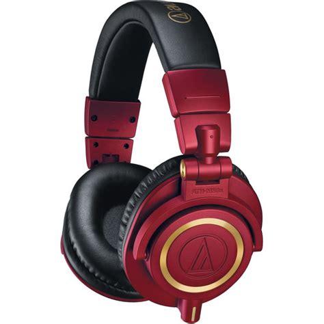 Audio Technica Ath S 500 Nv Monitoring Headphone Bergaransi audio technica ath m50x monitor headphones ath m50xrd b h photo