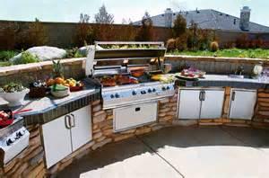 Outdoor Kitchen Bbq Designs Outdoor Barbeque Islands Ideas Kitchentoday