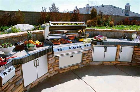 bbq kitchen ideas outdoor barbeque designs kitchentoday